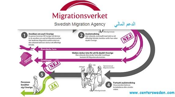 المركز السويدي لدعم اللجوء والهجرة