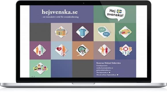 برنامج تعليم اللغة السويدية